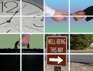"With all the stress that takes place throughout the day, wouldn't we all like to know the ""way to well-being?"""