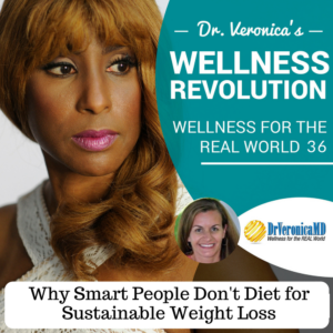 Why Smart People Don't Diet for Sustainable Weight Loss